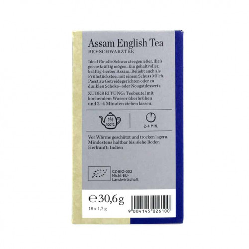 Sonnnetor Assam English Tea 18 Bags
