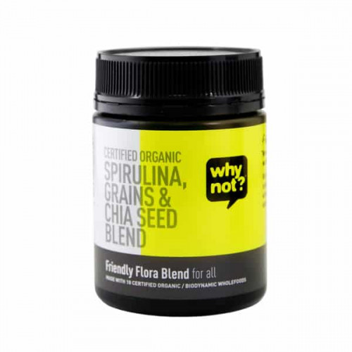 Why Not Organic Friendly Flora Blend For All 150g