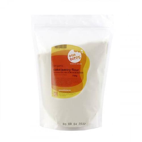 The Bites Organic Unbleached Cake Pastry Flour Aus 750g