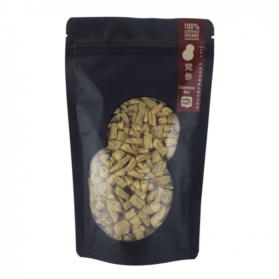 Why Not? Codonopsis Root (Dang Shen) 有机党参, 100g