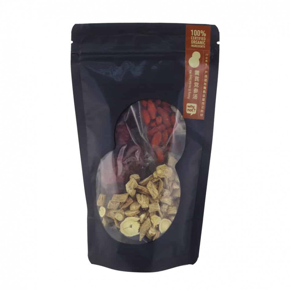 Why Not? Huang Qi Herbal Soup Mix 有机黄芪党参汤, 77g *COMING SOON*