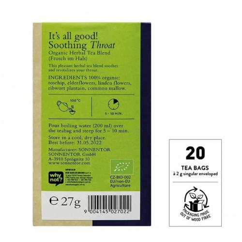 @SNT Tea Bag Blend Throat bk set