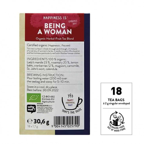 @SNT Tea Bag Hapiness Being Woman bk set 1
