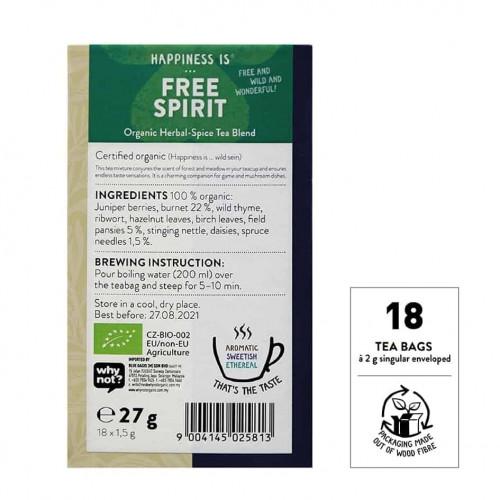@SNT Tea Bag Hapiness Free Spirit bk set