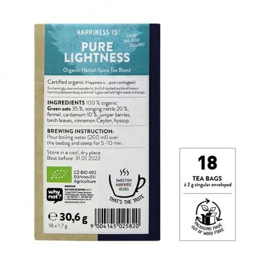 @SNT Tea Bag Hapiness Pure Lightness bk set