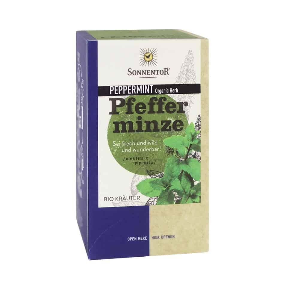 Sonnentor Organic Peppermint Tea, 18 tea bags