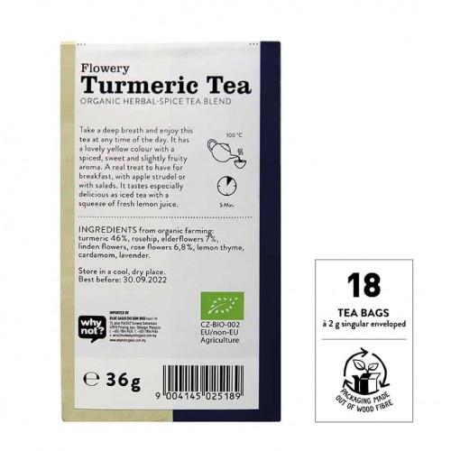 @SNT Tea Bag Turmeric Flowery bk set