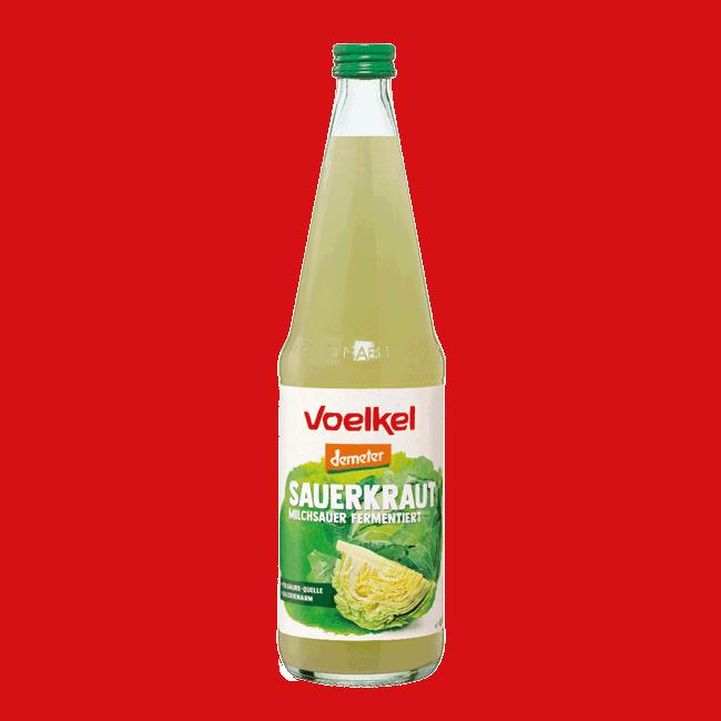 Voelkel Organic Sauerkraut Juice (Demeter), 700ml