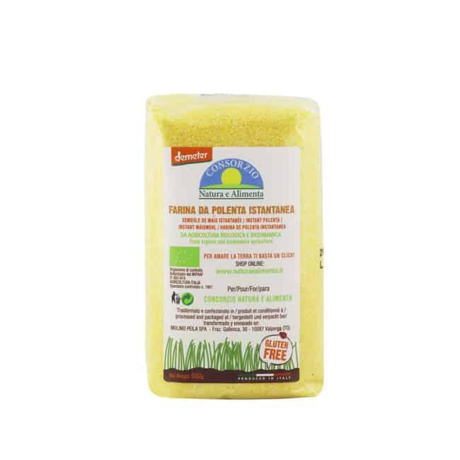 *VALUE BUY @RM15* Natura e Alimenta Organic Biodynamic Instant Polenta, 500g