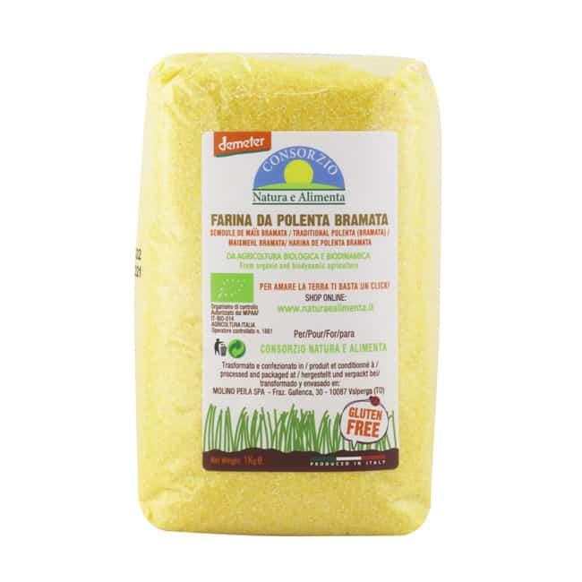 Natura e Alimenta Organic Biodynamic Polenta Bramata, 1kg