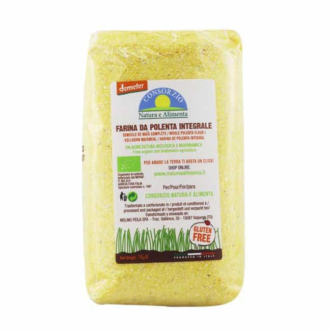 *VALUE BUY @RM17* Natura e Alimenta Organic Biodynamic Whole Polenta, 1kg